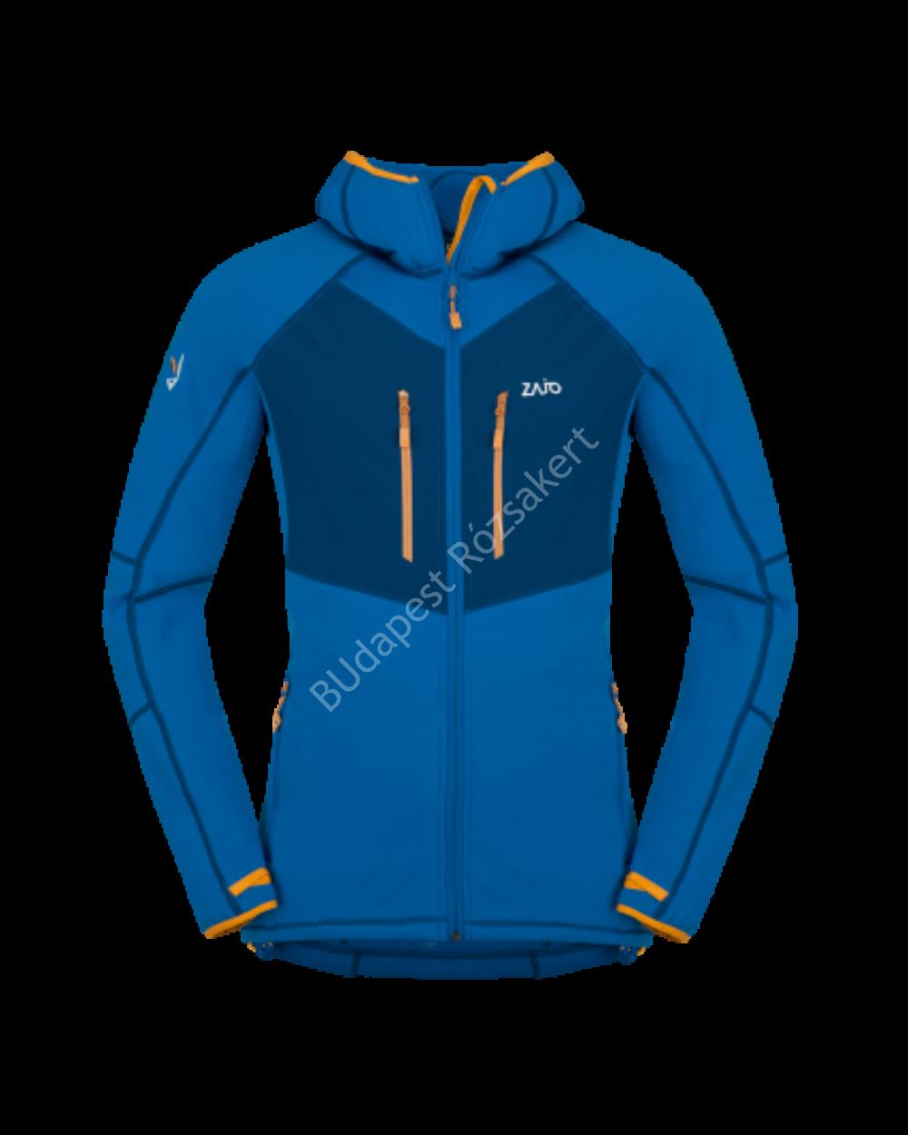 Zajo Glacier Neo Jkt Polartec férfi polár pulóver, nautical blue