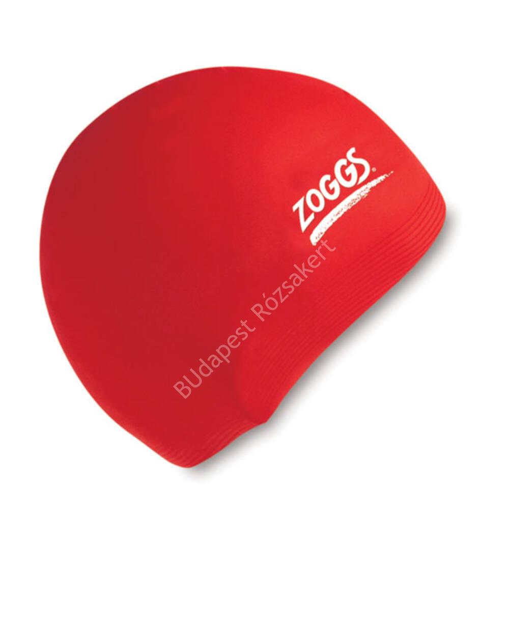 Zoggs silicone felnőtt úszósapka, piros