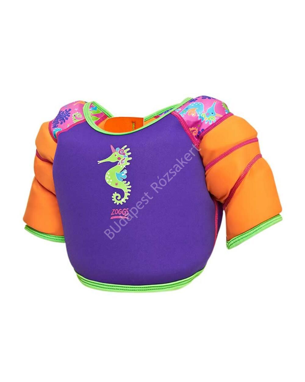 Zoggs Water Wing Vest úszómellény, lila, 4-5 éves