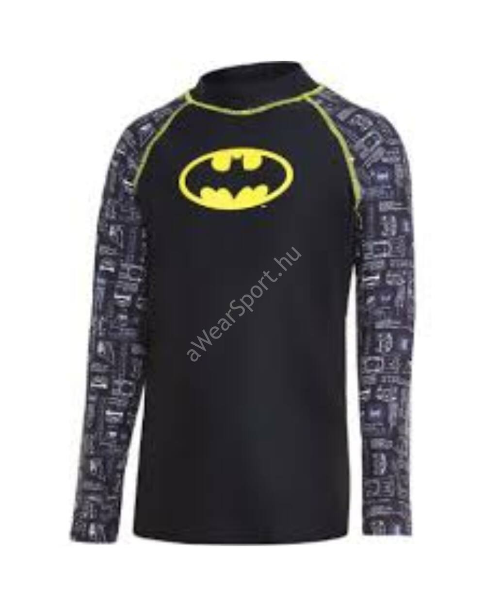 Zoggs Batman UV felső, fekete-multi