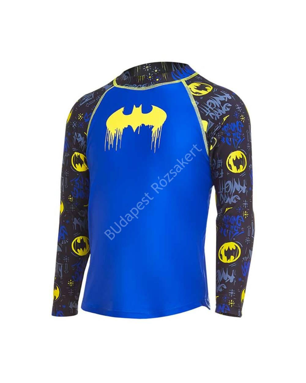 Zoggs Batman UV felső, kék-fekete