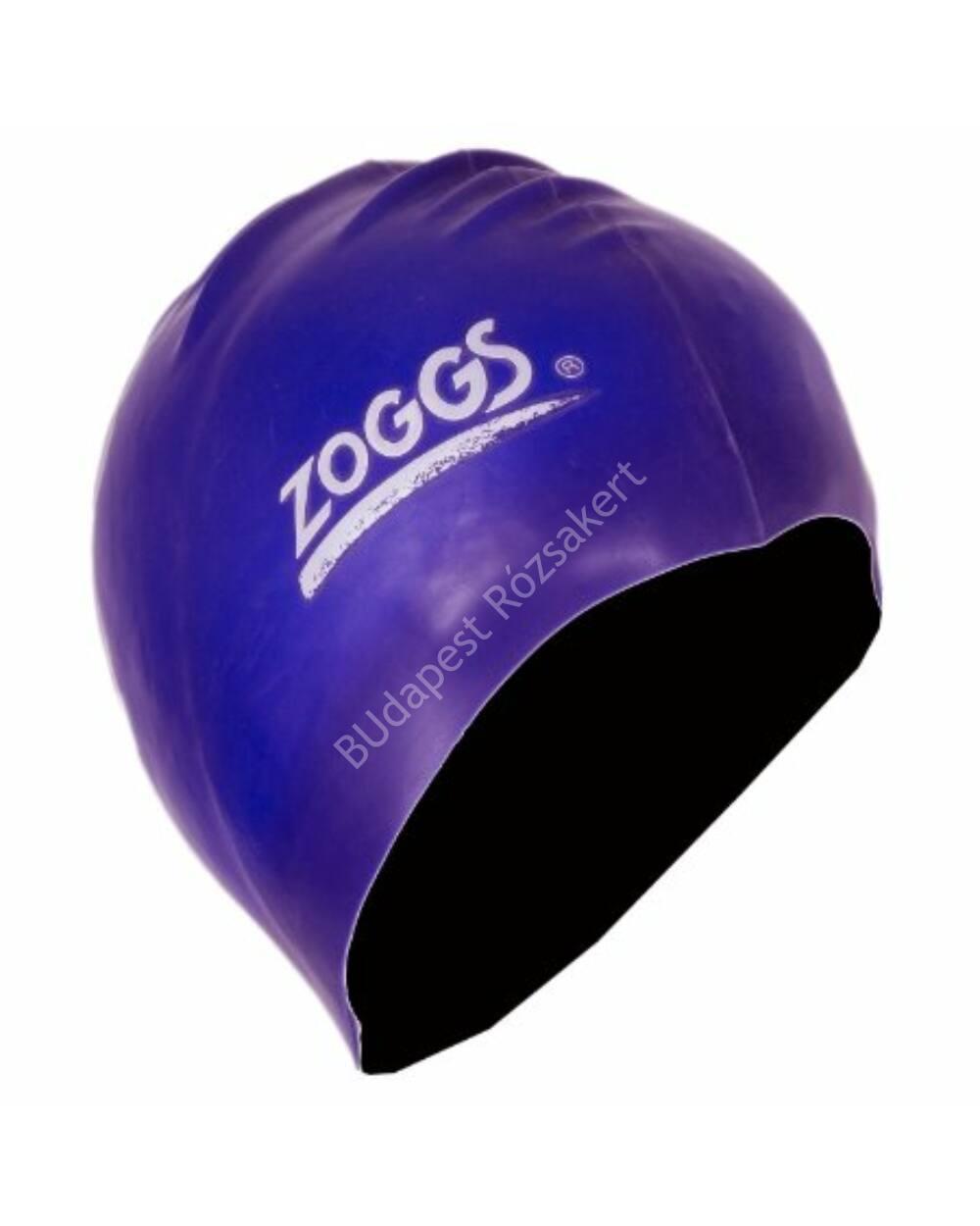 Zoggs silicone felnőtt úszósapka, sötétkék