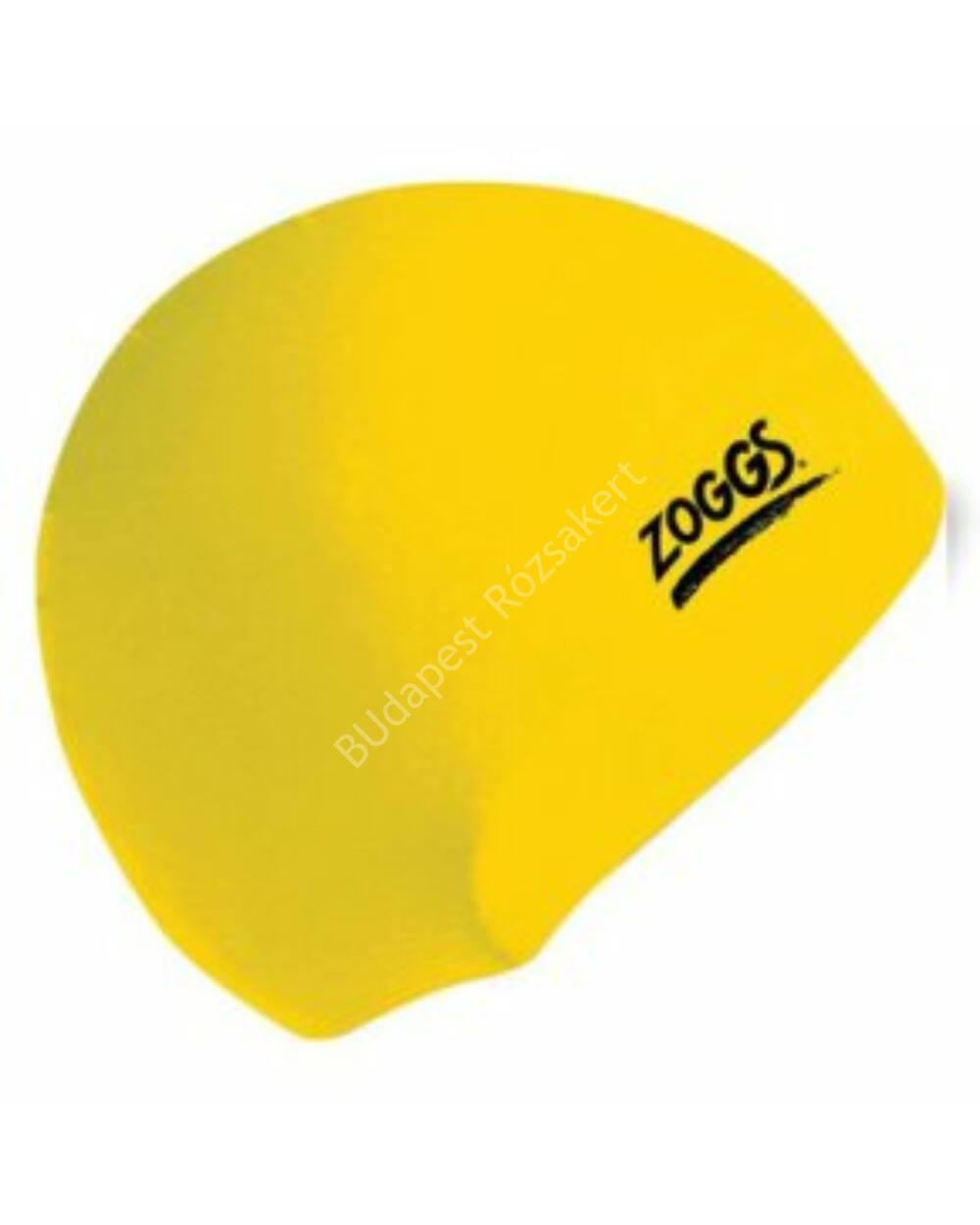 Zoggs silicone felnőtt úszósapka, sárga