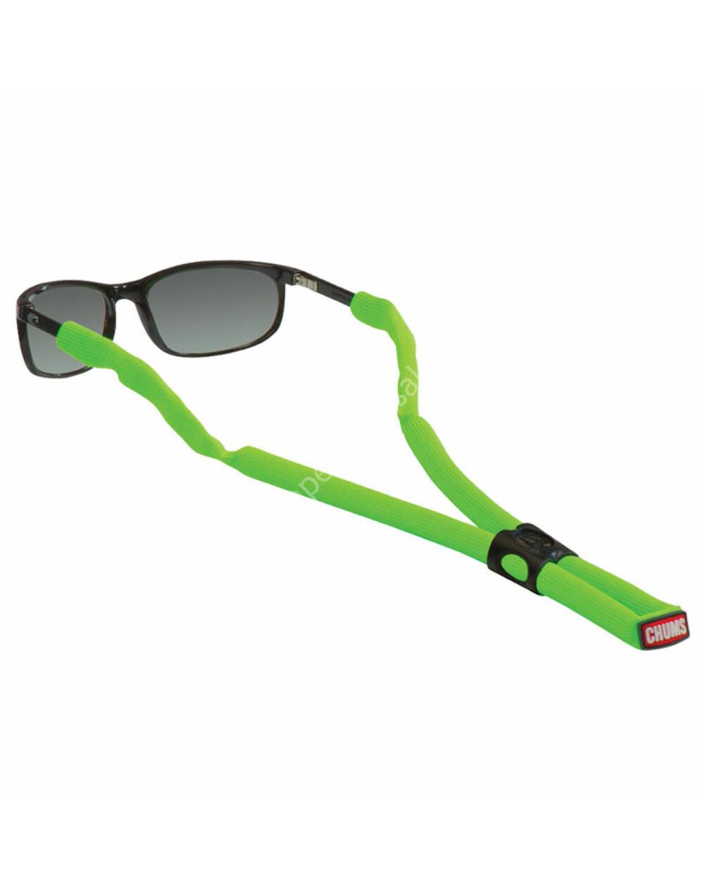 Chums Glassfloat Classic szemüvegpánt, neonzöld