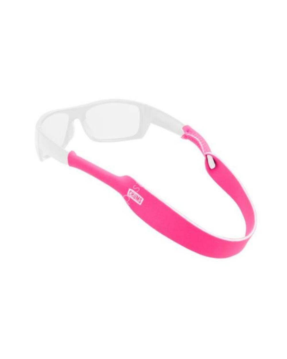 Chums Neoprene Classic Solids szemüvegpánt, pink