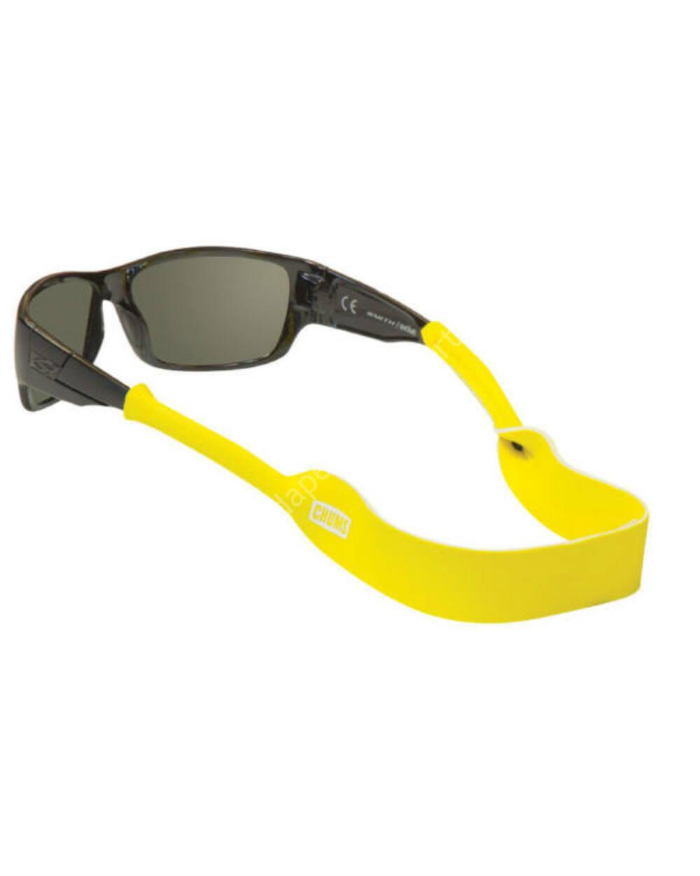 Chums Neoprene Classic Solids szemüvegpánt, citromsárga