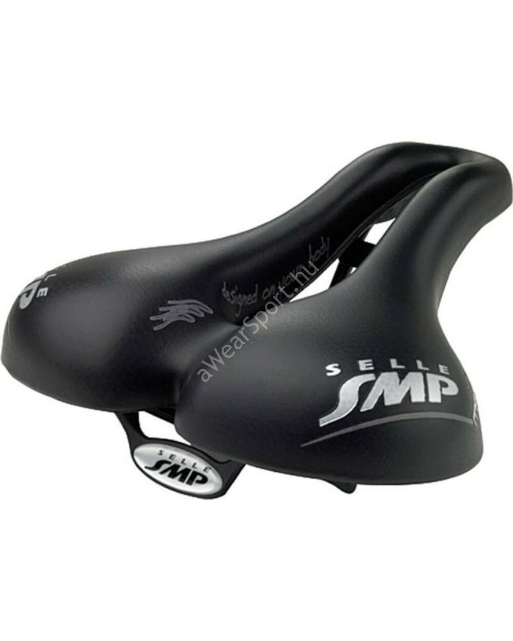 Selle SMP 4BIKE MARTIN TOURING Medium nyereg, fekete