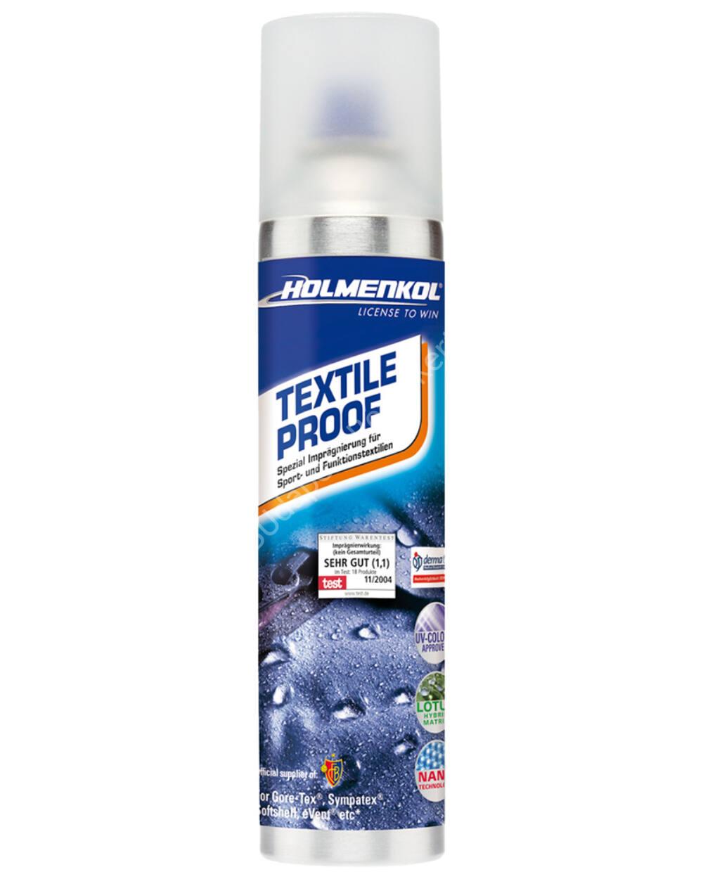 Holmenkol Textile Proof impregnáló spray 250ml