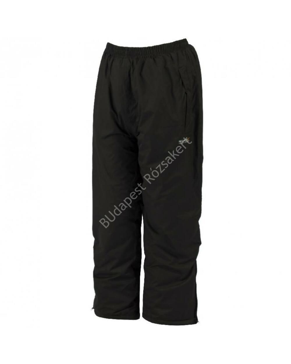 Regatta Kids Pad Chandler gyerek bélelt és vízálló nadrág, fekete