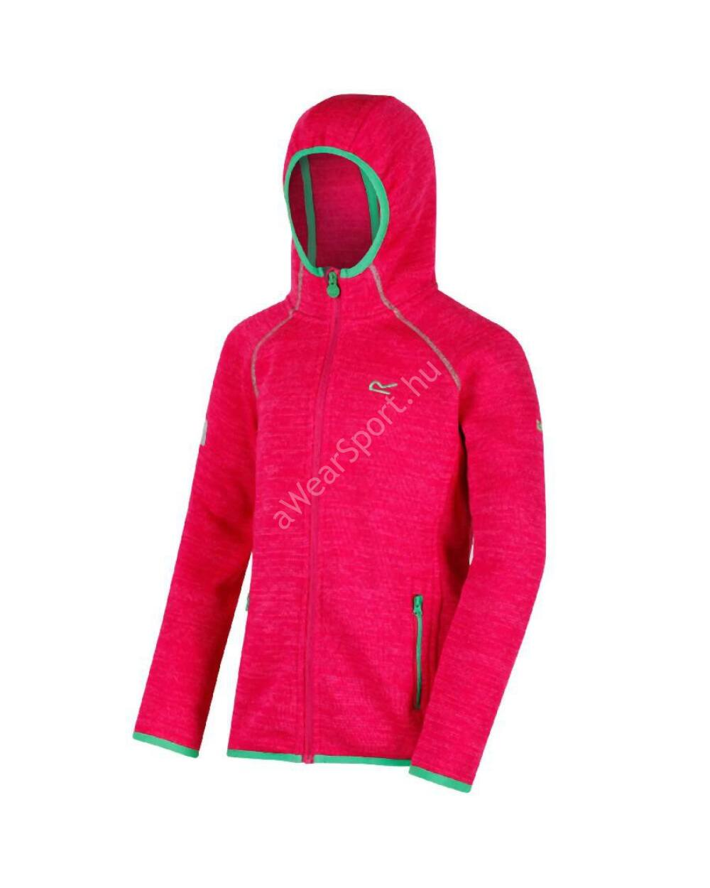 Regatta Dissolver gyerek polár felső, pink, 9-10 éves