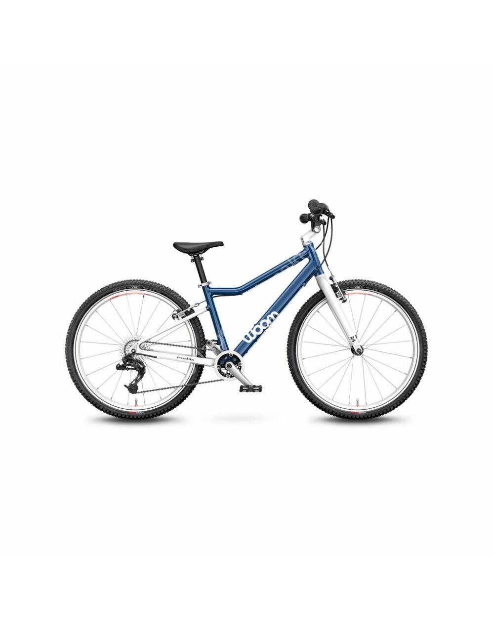 "Woom 5 éjkék 24"" kerékpár, 125-145 cm testmagasság, 8.2kg"