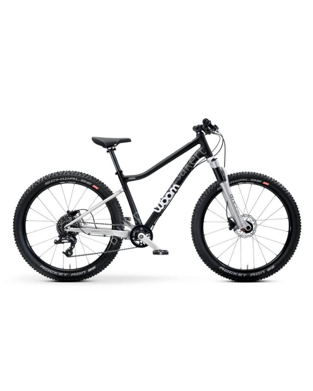 """Woom OFF 5 AIR 24"""" gyerek kerékpár, 128-145 cm testmagasság, 10.1 kg"""