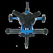Micro Trike Deluxe háromkerekű, tologatható tricikli, kék