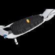 Micro White Deluxe roller Vibram fellépővel 200 mm-es kerekekkel