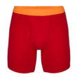 Zajo Bjorn Merino Shorts férfi merinói gyapjú alsónadrág, racing red, S