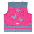 Wowow Fun Jacket láthatósági gyermek mellény, pink, 2-6 éves