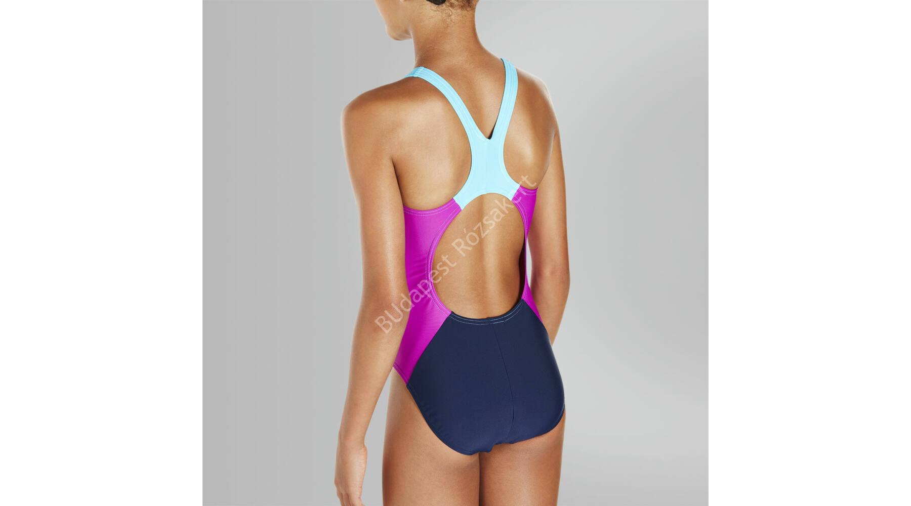 ... Speedo Constrast Panel Splashback lány úszódressz dd51440271