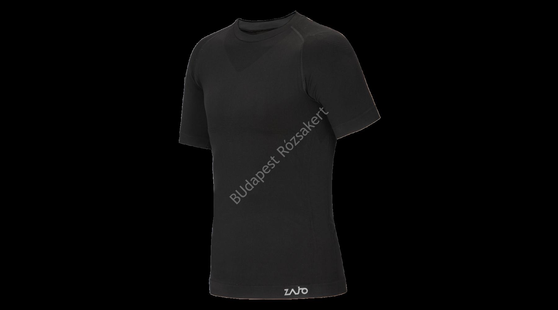 a14595e568 ... Zajo Contour M T-shirt SS férfi strech aláöltözet felső, fekete ...