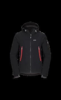 Zajo Air LT Hoody Jkt férfi softshell kabát, fekete