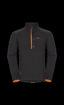Zajo Arlberg Pull férfi polár pulóver, fekete
