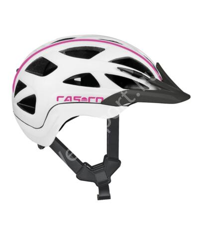 Casco Activ 2 Junior bukósisak, 50-56cm, fehér-pink