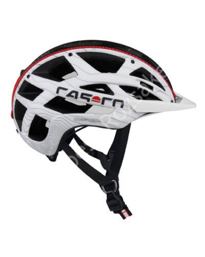 Casco CudaMountain kerékpáros bukósisak, fehér-fekete, 52-58 cm