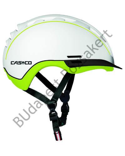 Casco Young Generation kerékpáros bukósisak, fehér-neonzöld, 50-54cm