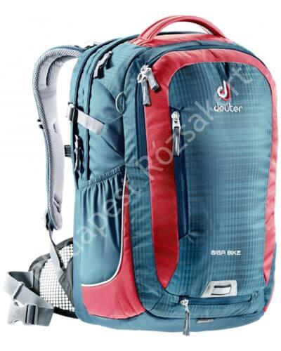 Deuter Giga Bike hátizsák 28 L, kék-piros