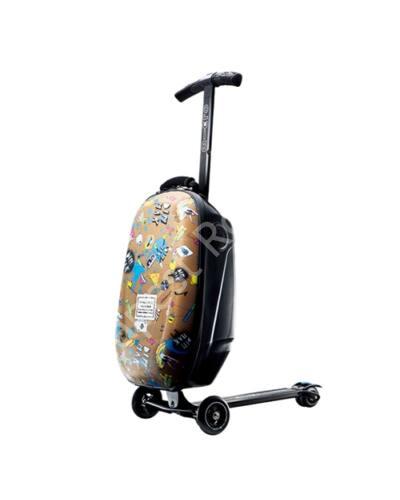 Micro Steve Aoki bőrönd roller, integrált Sound2go hangszórókkal