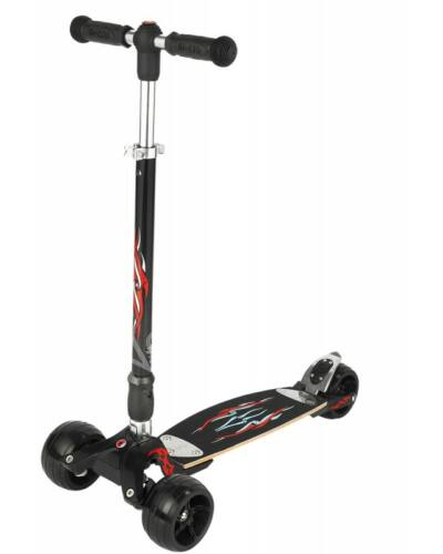Micro Kickboard Monster Interchangeable roller, fekete