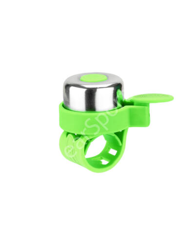 Micro roller csengő, neonzöld