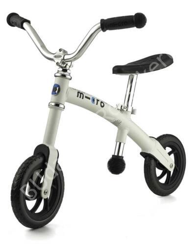 G-Bike Micro Chopper futóbicikli, fehér