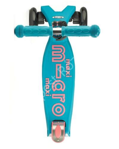Maxi Micro Deluxe roller, aqua-pink
