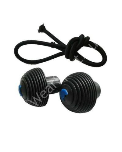 Micro kormányvég gumival Sprite, Speed+, Rocket, Black / White, Flex, Suspension rollerekhez