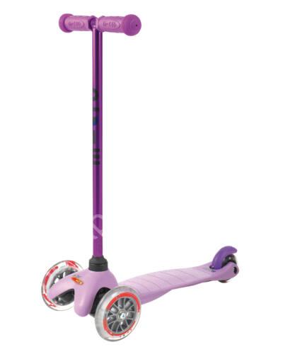 Mini Micro roller, candylila sötétlila fellépővel + 1990 Ft értékű ajándék Micro csengő BEMUTATÓ DARAB