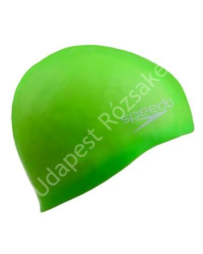 Speedo junior szilikon úszósapka, zöld
