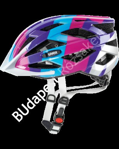 Uvex Air Wing kerékpáros bukósisak, türkizkék-pink, 52-57 cm