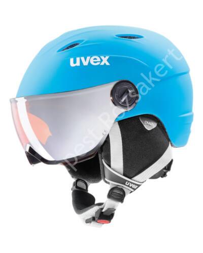 Uvex Junior Visor Pro SÍSISAK, világoskék, 46-52 cm