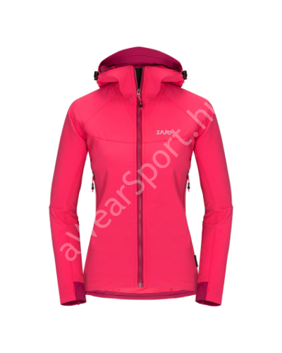 Zajo Air LT Hoody W Jkt  női softshell kabát, teaberry