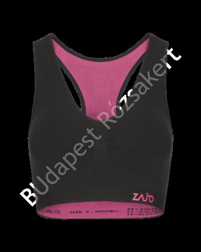 Zajo Contour W Bra női strech sportmelltartó, fekete
