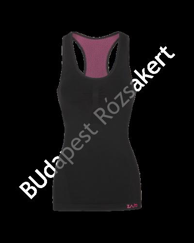 Zajo Contour W Tank Top női strech aláöltözet felső, fekete