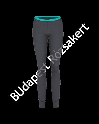 Zajo Elsa Merino W Pants női gyapjú aláöltözet nadrág, sötétszürke