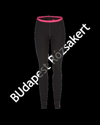 Zajo Nora Merino W Pants női gyapjú aláöltözet nadrág, fekete