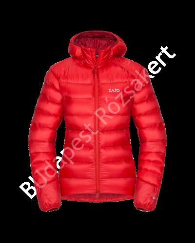 Zajo Valbella W szélálló DownTek/pehely női dzseki, hibiszkusz piros