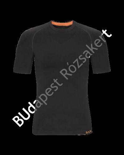 Zajo Contour M T-shirt SS férfi strech aláöltözet felső, fekete