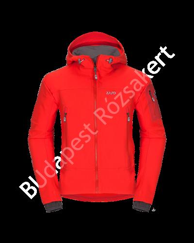 Zajo Air LT Hoody Jkt férfi softshell kabát, neon piros