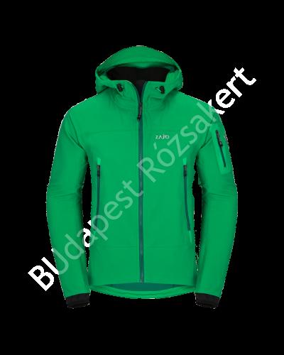Zajo Air LT Hoody Jkt férfi softshell kabát, zöld