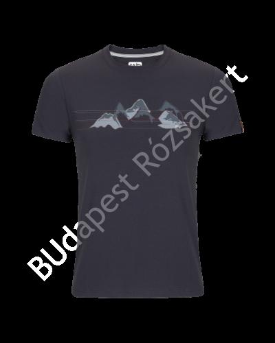 Zajo Bormio T-shirt Nature rövidujjú férfi póló, magnet