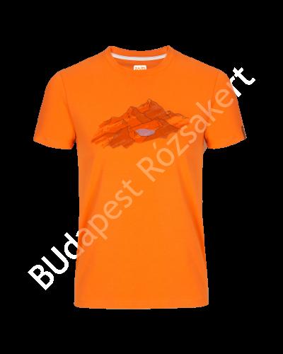 Zajo Bormio T-shirt Nature rövidujjú férfi póló, narancssárga