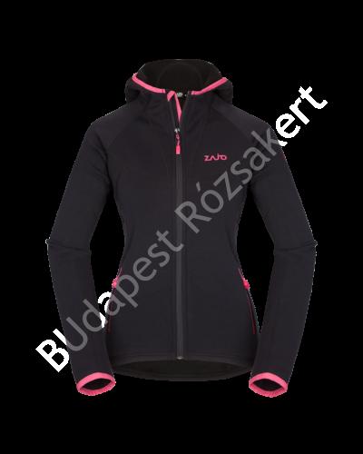 Zajo Cortina Neo W Jkt női pulóver, fekete